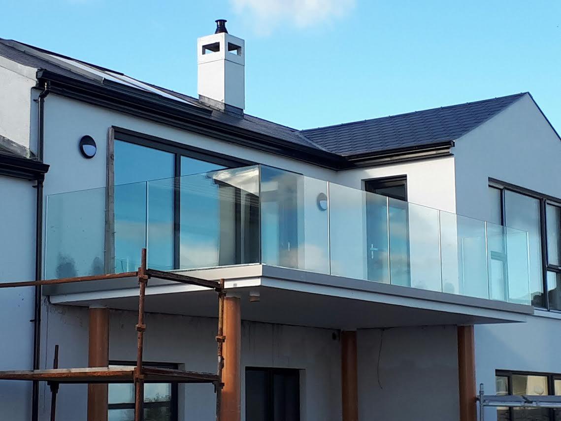 Glass Balustrades Ireland   Glass Balconies   Glass Balustrades