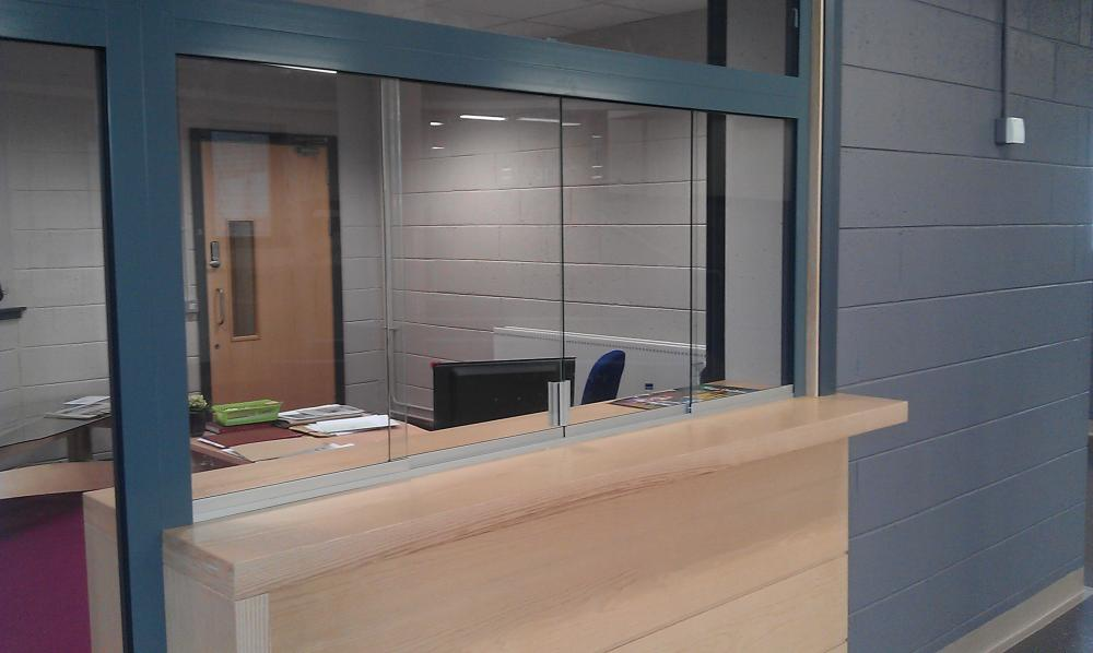 grammar-school-reception-desk