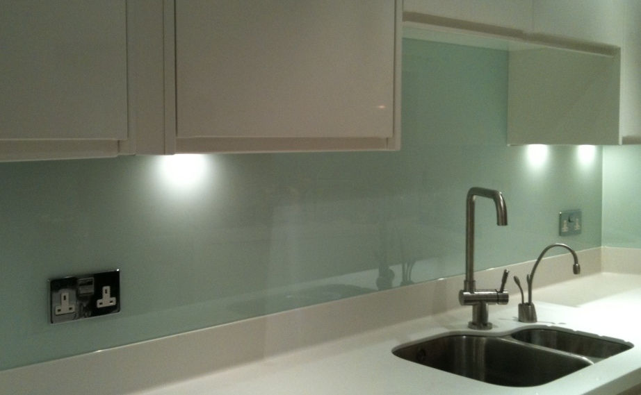 Splash Back Duck Egg Blue