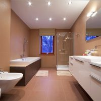 mirror, bathroon, beveled