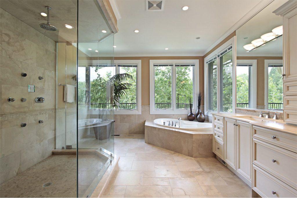 Shower Glass Screen, bathroom, wetroom, mirrors, glass fittings