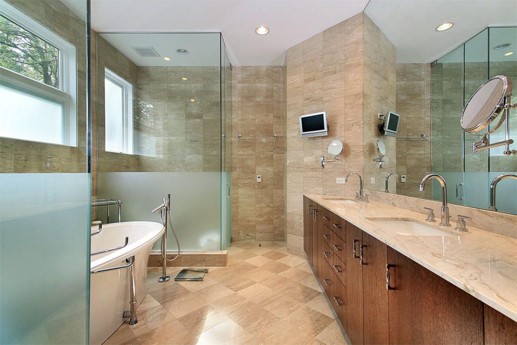Glass shower screen, sligo, mirrors, bathroom, home improvement, modern, sandblast