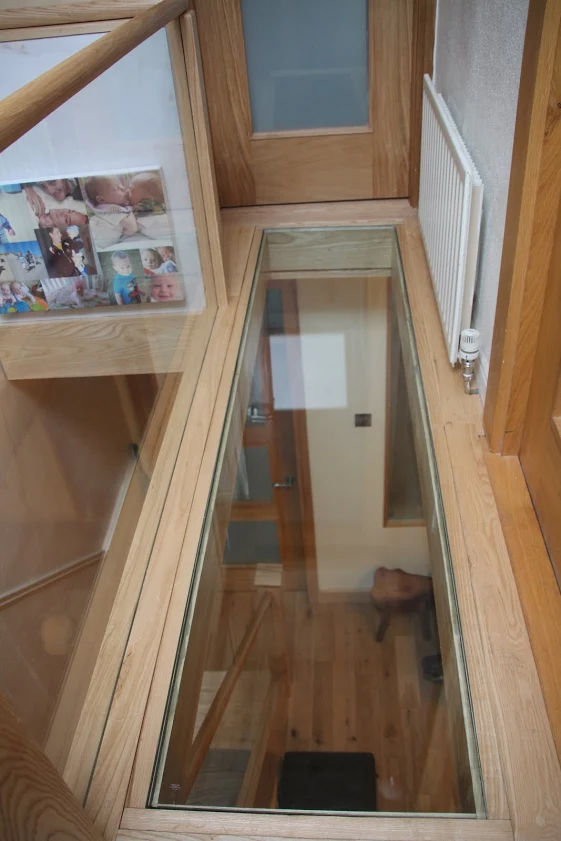 floor-glass, walk on glass, new technology, toughened glass, contemporary design, bright space, modern, home improvement