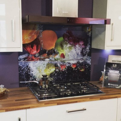 print, glass splashback, sligo, glass, kitchen
