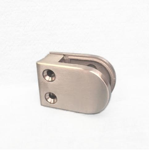DL62 Glass Clamp Flat Back