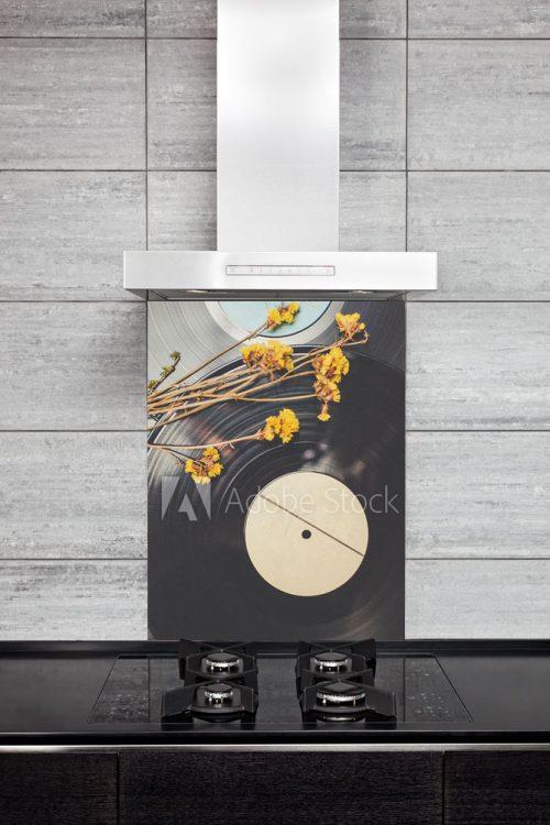 Kitchen Splash Back - Vinyl