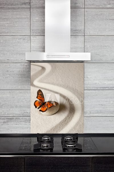 Kitchen Splash Back - Butterfly