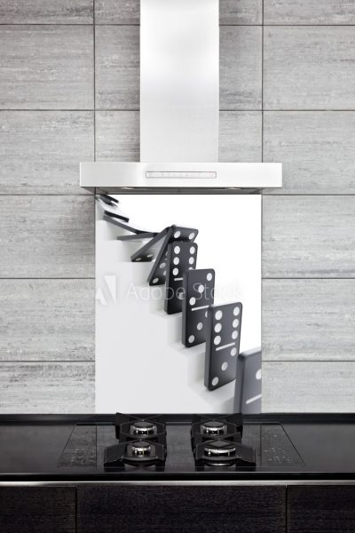 Kitchen Splashback Domino