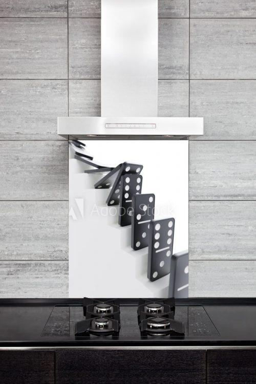 Kitchen Splashback Domino