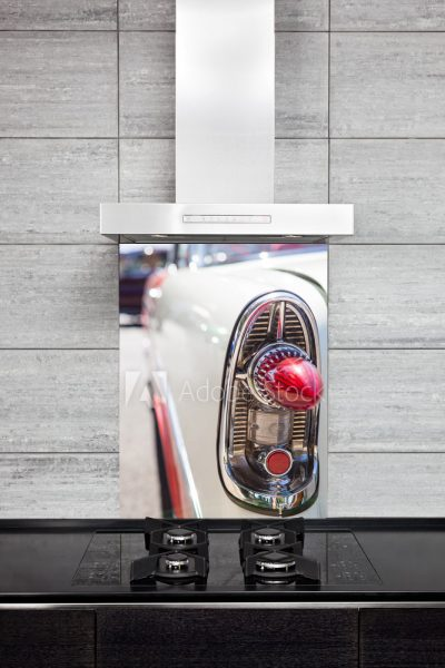 Kitchen Splashback Classic Car