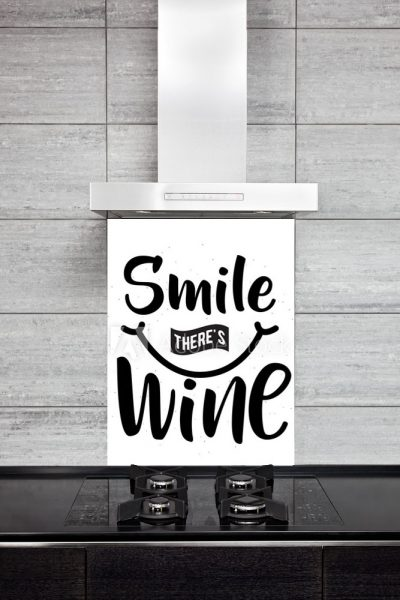 Kitchen Splash Back - Smile