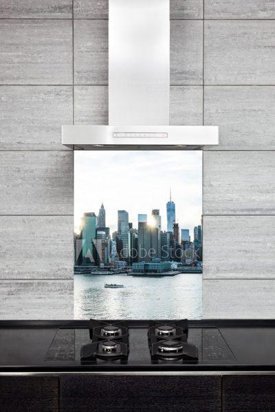 Kitchen Splash Back - Skyline & CittyScapes