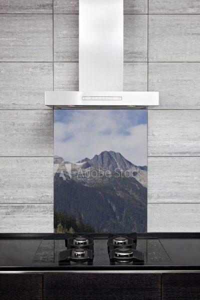 Kitchen Splashback Mountain