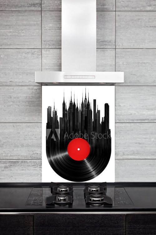 Kitchen Splash Back - Vinyl Town