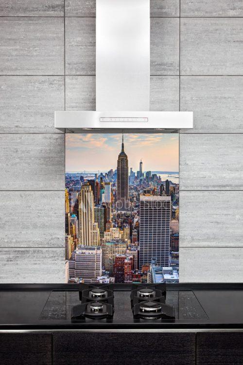 Kitchen Splashback Empire State Building