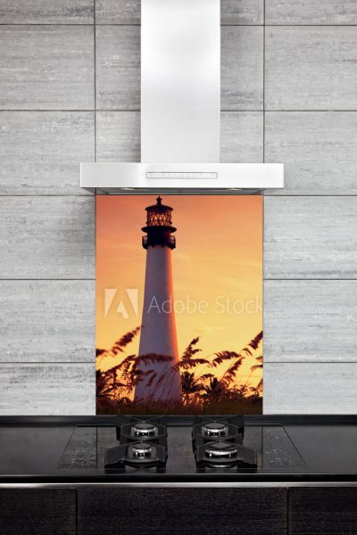 Kitchen Splashback Lighthouse