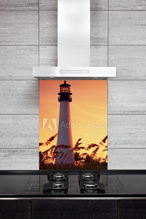 Kitchen Splashback Lighthouse