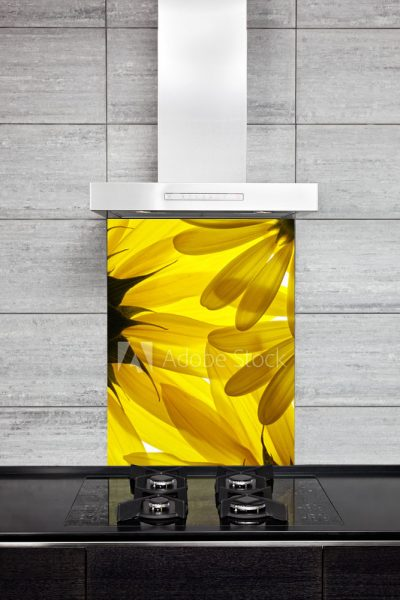 Kitchen Splashback Sunflower