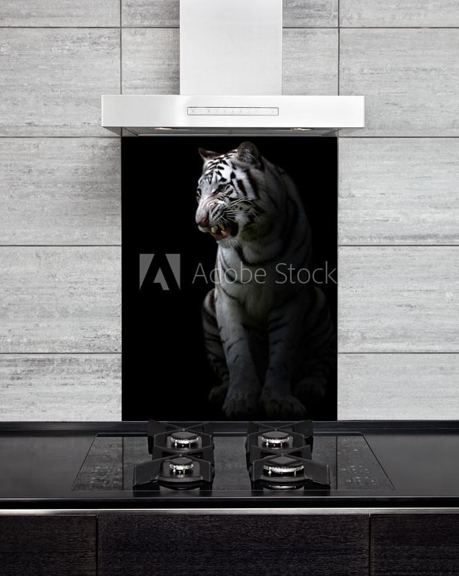 Kitchen Splash Back Tiger