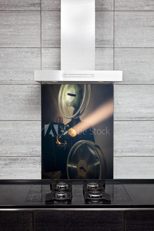Kitchen Splash Back - Projection Device