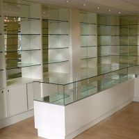 Glass Reception Area