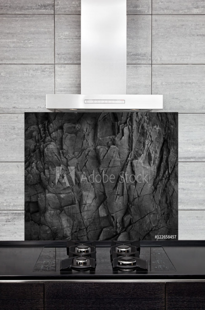 Kichen Splashback Dark Slate Background