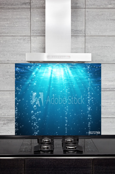 Kitchen Splashback Underwater