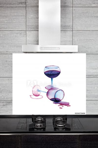 Kitchen Splashback Wine