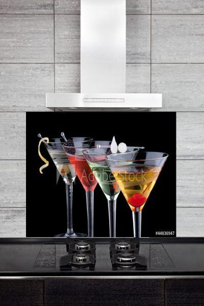 Kitchen Splashback Classic Martini
