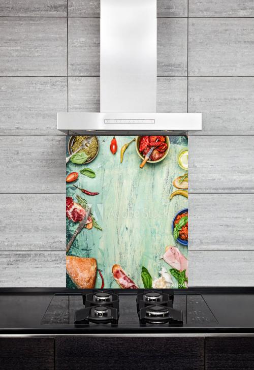 Kitchen Splashback Snack Concept