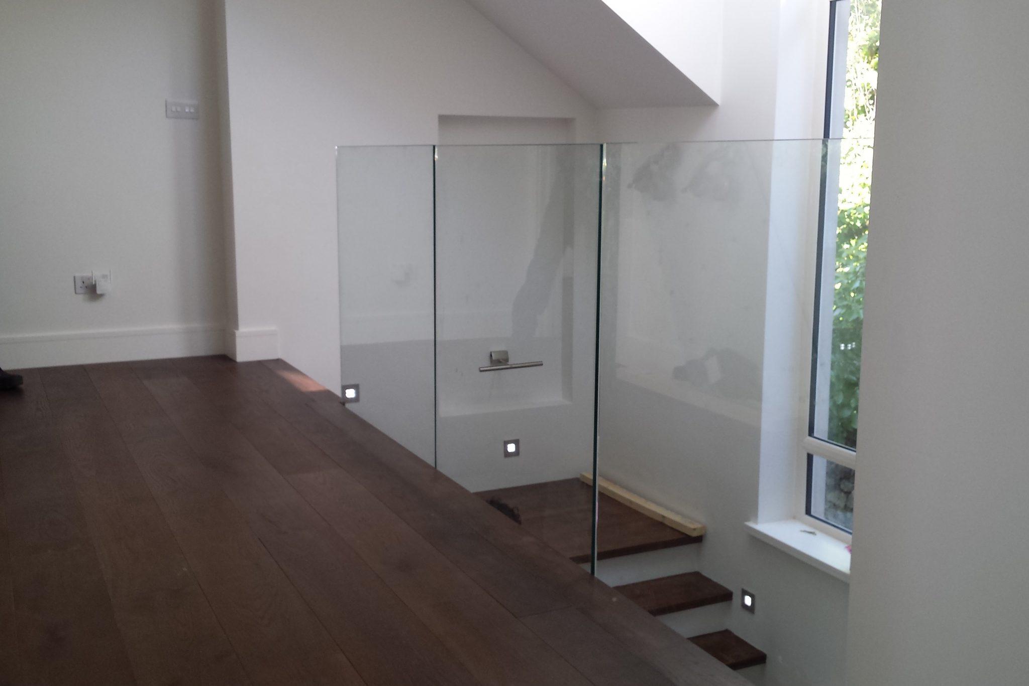 Modern Glass Landing
